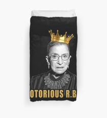 The Notorious Ruth Bader Ginsburg (RBG) Duvet Cover