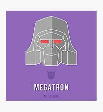 Megatron Photographic Print