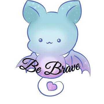 Be Brave Chibi Bat by NicholiCosplay