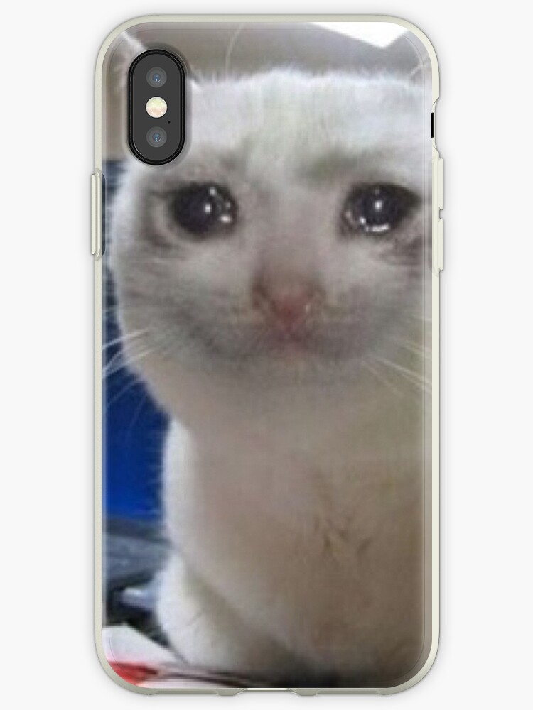 """""""Crying cat meme"""" iPhone Cases & Covers by Carou 