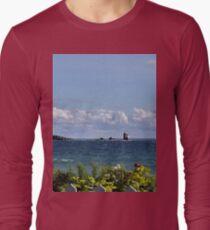 View from Mackinac Island Long Sleeve T-Shirt