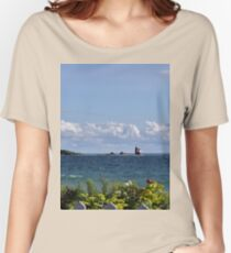 View from Mackinac Island Women's Relaxed Fit T-Shirt