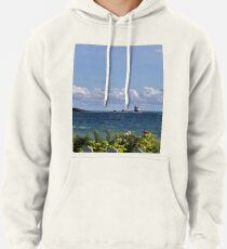 View from Mackinac Island Pullover Hoodie