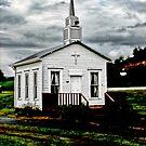 Small Church by Ron Alcorn