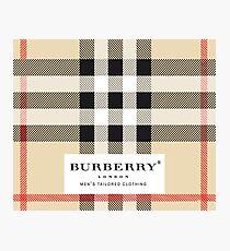 burberry London Photographic Print