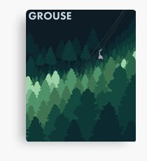 Grouse Canvas Print