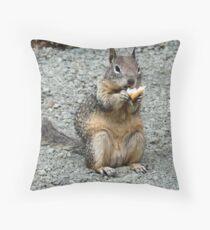 Nibbler Throw Pillow