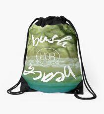 Bush or Beach Destination Drawstring Bag