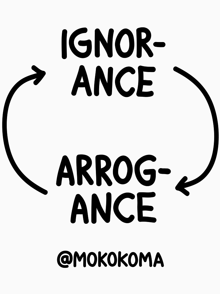 Ignorance and Arrogance by Mokokoma