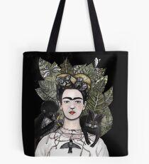 Frida Kahlo self portrait version Tote Bag