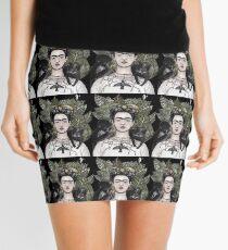 Frida Kahlo Selbstporträtversion Minirock