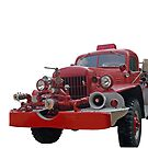 Antique Fire Truck by Karl R. Martin