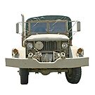 Old Military Truck by Karl R. Martin