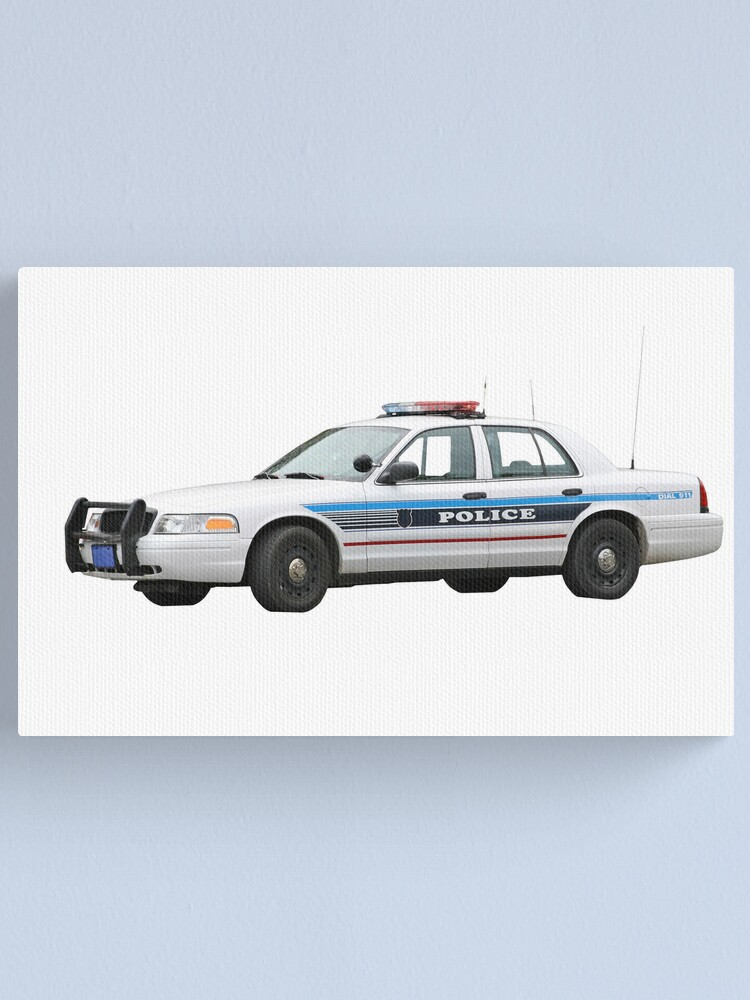 Alternate view of Police Car Canvas Print