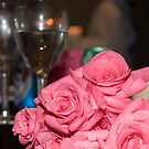 Pink Roses by Karl R. Martin