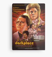 Garth marenghi Dark Place Poster  Metal Print