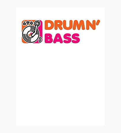 DrummN' Bass Photographic Print