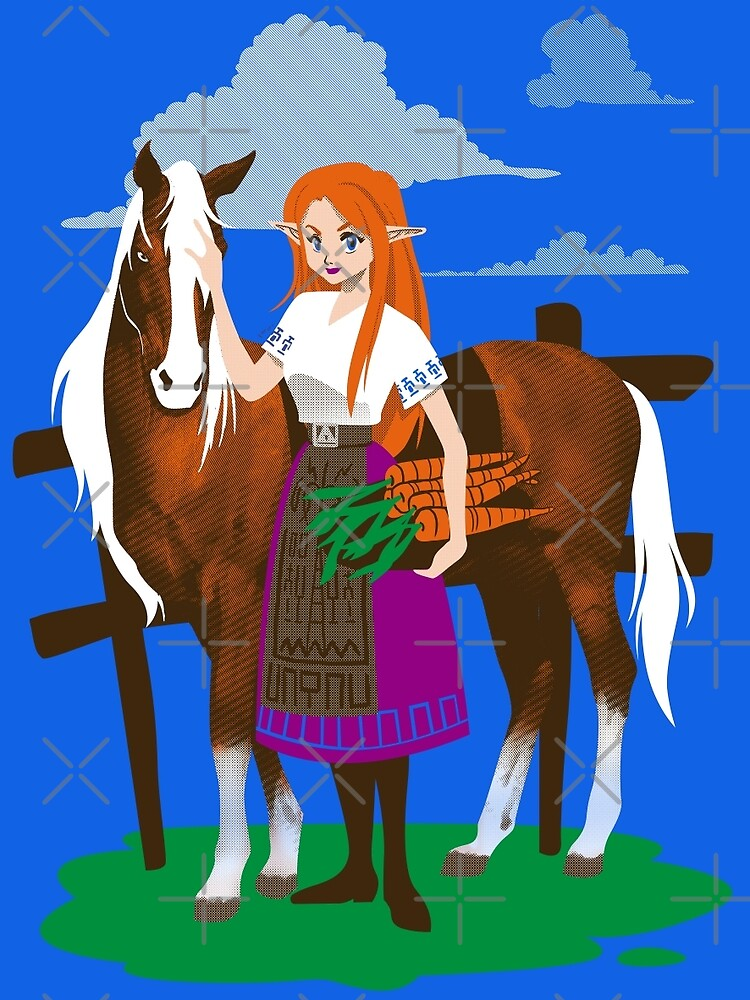 Malon and the Horse by Ursula Lopez