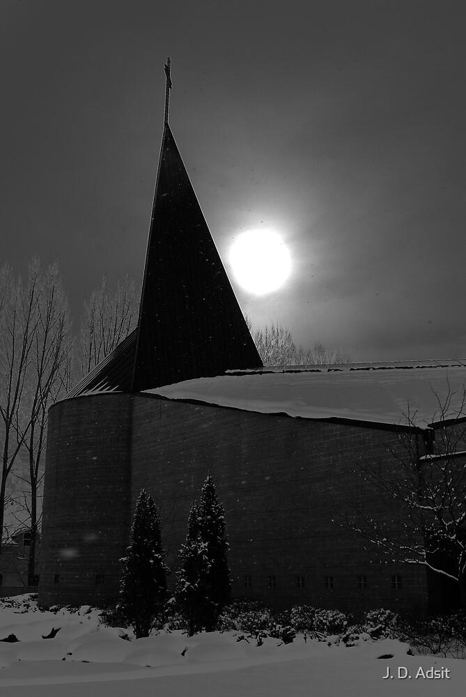 The Sun sets but Once by J. D. Adsit