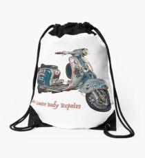 Juan Pablos Motor Scooter Body Repairs Drawstring Bag