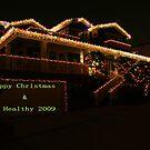 HAPPY CHRISTMAS by Anne-Marie Bokslag
