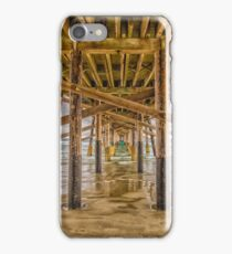 Newport Beach Pier 2 iPhone Case/Skin