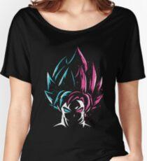 Super Saiyan Blue and Super Saiyan Rose Women's Relaxed Fit T-Shirt