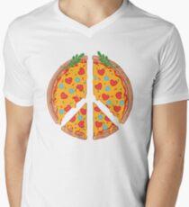 Peazza, Love and Joy V-Neck T-Shirt
