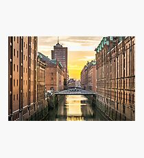 Hamburg Germany  Photographic Print