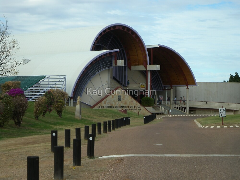 The Australian Stockmans Hall Of Fame_Longreach_Queensland_Australia by Kay Cunningham