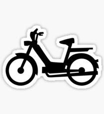 Moped Sticker