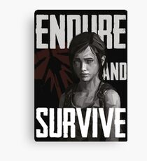 The Last Of Us - Ellie Canvas Print