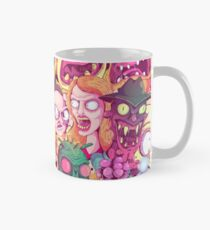 Rick and Morty Doodle Mug