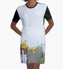 Dreamy Mackinac Island Graphic T-Shirt Dress