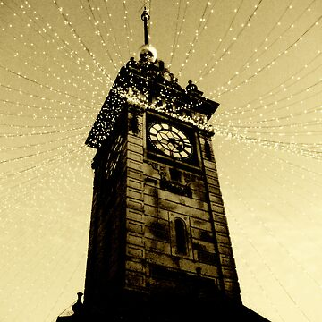 Golden Tower Of Time by HarryHutchin