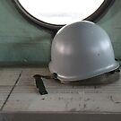 Old helmet by Katherine Hartlef