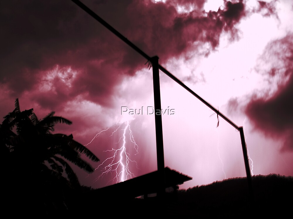 Christmas Storm III by Paul Davis