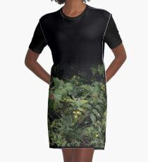 The Green of the Mackinac Island Forest Floor Graphic T-Shirt Dress