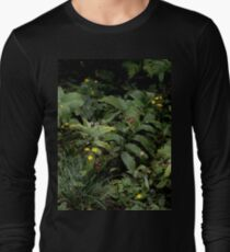 The Green of the Mackinac Island Forest Floor Long Sleeve T-Shirt