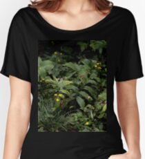 The Green of the Mackinac Island Forest Floor Women's Relaxed Fit T-Shirt
