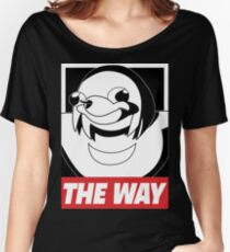 OBEY THE WAY - Ugandan knuckles Women's Relaxed Fit T-Shirt