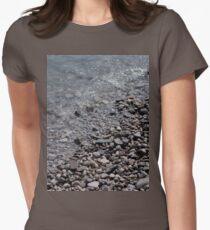 Mackinac Island Pebble Beach Women's Fitted T-Shirt