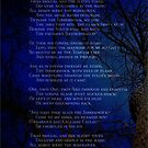 Jabberwocky - Lewis Carroll - poem - dark forest by yayandrea