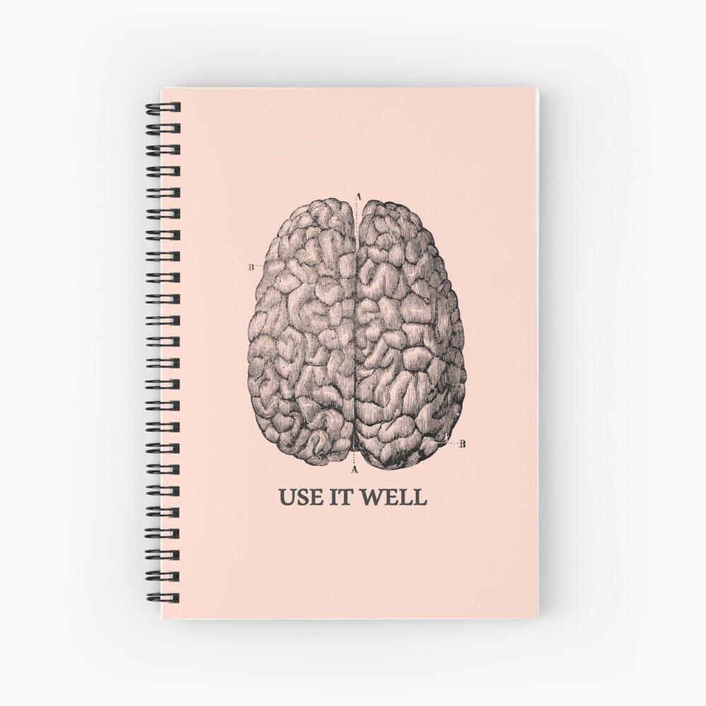 Verwenden Sie es gut - Gehirn Spiralblock