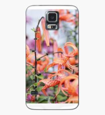 Mackinac Island Tiger Lilies and Echinacea Case/Skin for Samsung Galaxy