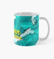 The ocean is my place Classic Mug