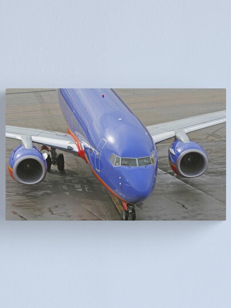 Alternate view of Blue Airplane Canvas Print