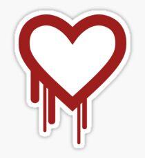 Heartbleed Sticker