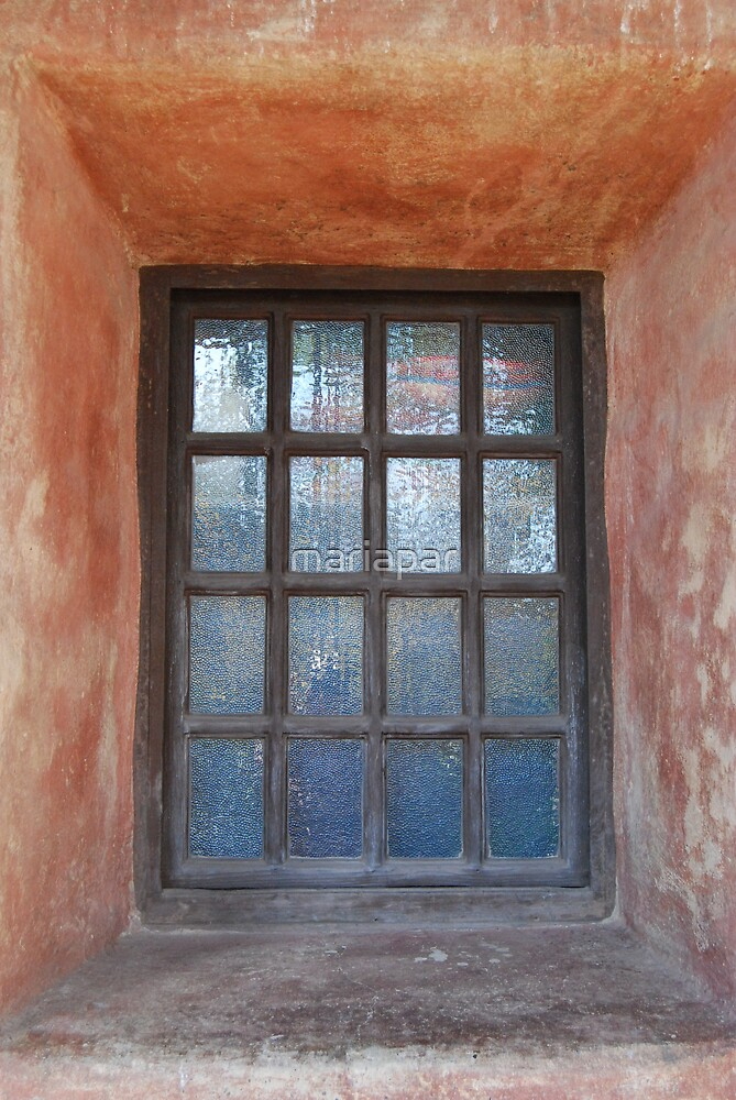 rustic window by mariapar