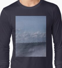 Abstract of Mackinac Island Ferry Ride Long Sleeve T-Shirt